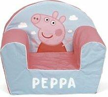 PEPPA PIG Fauteuil forme Club en mousse 41x50x32 cm