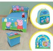 PEPPA PIG Pack chambre enfant complète - modèle