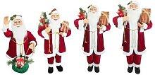 Père Noël de décoration avec mélodies et
