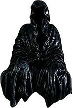 perfk Statue Gothique Assis Figurines de