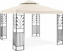 Pergola De Jardin Terrasse En Kit Toile 180g/m2,