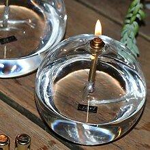 Peri Glass - 1245 Lampe à Huile Ronde en Verre MM
