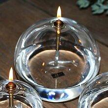 Peri Glass - 1246 Lampe à Huile Ronde en Verre GM