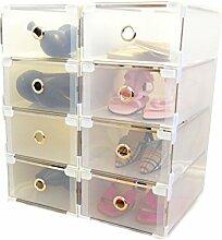 Periea - Boîtes en Plastique pour Le Rangement et