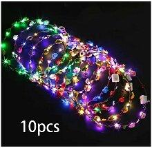 Perle rare Guirlande de LED, décoration 10PCS