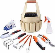 Perle rare Sac à outils de jardinage sac en toile