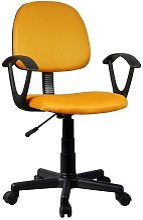 PERLO   Chaise de bureau pivotante moderne pour