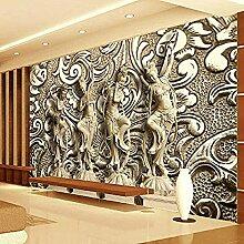 Personnalisé toute taille murale papier peint 3D