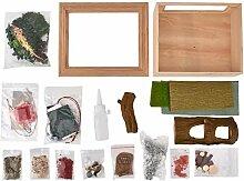 Personnalité en bois assembler le jouet de cadre