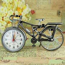 Pestelley – Mini vélo Vintage, réveil, bureau