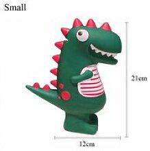 Petit 12x21cm Tirelire de dinosaure de dessin