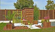 Petit abri de jardin en bois 2,1 m2 - Ottawa