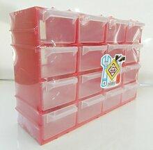 petit Casier de rangement couleur GRIS plastique