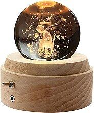Petit Prince 3d Boule De Cristal BoîTe à Musique