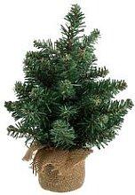 Petit sapin de Noël artificiel, vert, 30 cm