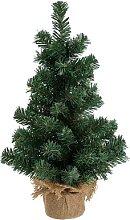 Petit sapin de Noël artificiel, vert, 50 cm
