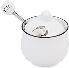 Petit Sucrier en Céramique Chase Chic Porcelaine