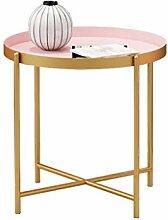 Petit Table de Salon Plateau nordique moderne en