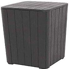Petite boîte de rangement extérieure pour table