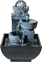 Petite fontaine à eau décorative pour bureau,