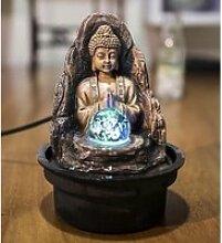 Petite fontaine d'intérieur Bouddha Peace