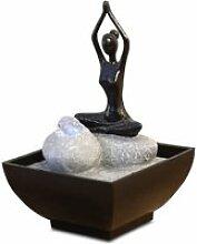 Petite fontaine intérieur yoga uchimura