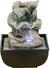 Petite fontaine pastorale de bureau, fontaine à