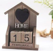 Petite maison en bois Style rétro européen,