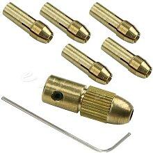 Petite perceuse électrique en cuivre 0.5-3mm, 7