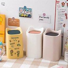 Petite poubelle nordique de bureau, salle de bain,
