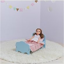 Petite princesse - lit simple de poupée de 45 cm