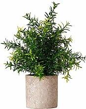 Petite Simulation Plante Verte En Pot En Plastique