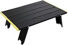 Petite table de camping pliante en aluminium pour