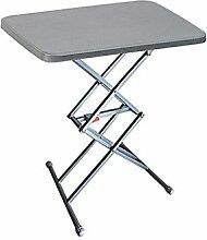 Petite table de camping pliante portable réglable