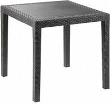 Petite table de jardin - salon de jardin - 80 x 80