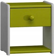 Petite table de nuit pour enfant - Vert