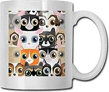 Petite tasse de café en céramique drôle pour