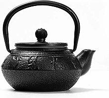 Petite théière en fonte japonaise bouillie en