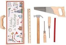 Petite valise bricolage (6 outils) 710408