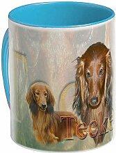 Pets-easy Mug personnalisé Teckel Poil Long