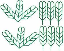 PETSOLA 12 Pièces Support De Plantes De Jardin