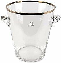 Peugeot Seau à champagne En verre avec finition