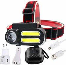 Phare Portable Mini XPE + 2 * COB Lampe de travail