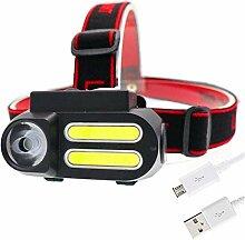 Phare Portable Mini XPE + 2 * COB LED Lampe de