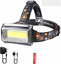 Phare puissant phare LED DC Rechargeable lampe