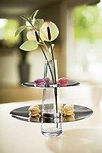 Philippi Fontaine Présentoir à gâteaux avec Vase