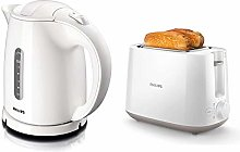 Philips HD4646/00 Bouilloire Basic Blanche (Import