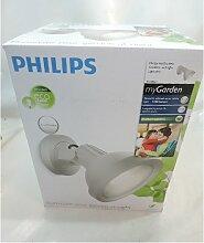 Philips - Projecteur extérieur gris clair