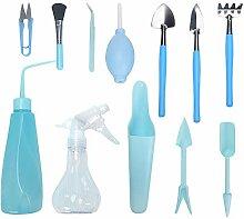 Phoetya Lot de 12 outils de plantation pour