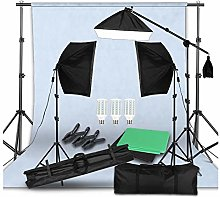 Photo Studio LED Softbox Lighting Kit